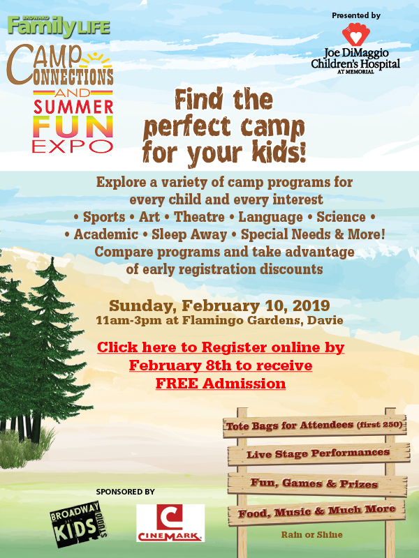 2019 Camp Connections & Summer Fun Expo